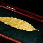 Γαλλία: 625.000 ευρώ πουλήθηκε ένα χρυσό φύλλο από το στέμμα του Ναπολέοντα