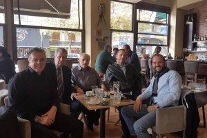 Κουβέντα για τις εκλογές στο Επιμελητήριο Λάρισας