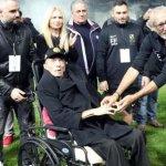 Συγκίνηση στο φιλικό προς τιμήν του  Ευγένιου Γκέραρντ