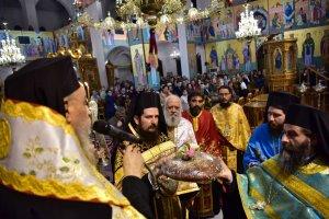 Λάρισα: Εσπερινός παραμονή της εορτής Εισοδίων της Θεοτόκου