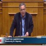 Συζητήθηκε η επίκαιρη ερώτηση του βουλευτή Λάρισας του ΚΚΕ