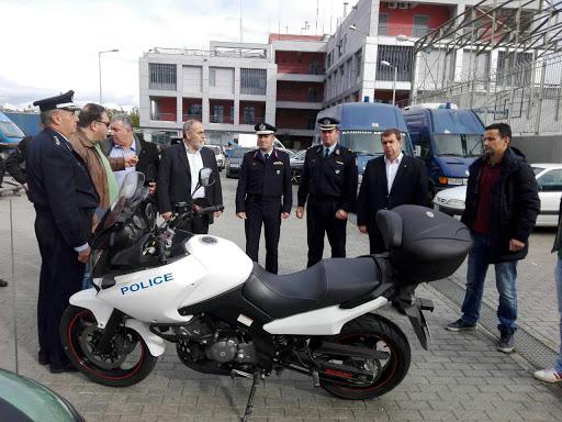 Η Ισραηλιτική Κοινότητα Λάρισας δώρισε στην ΕΛ.ΑΣ. μοτοσυκλέτα για την ΔΙΑΣ