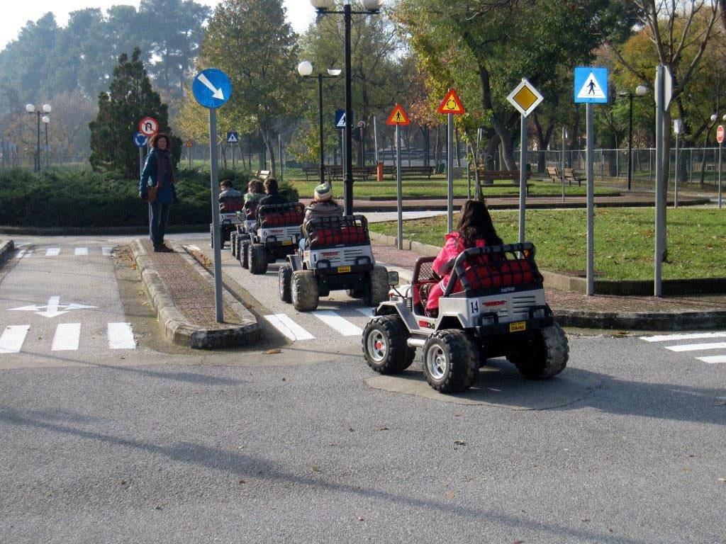 Εκπαίδευση παιδιών στο Πάρκο Κυκλοφοριακής Αγωγής
