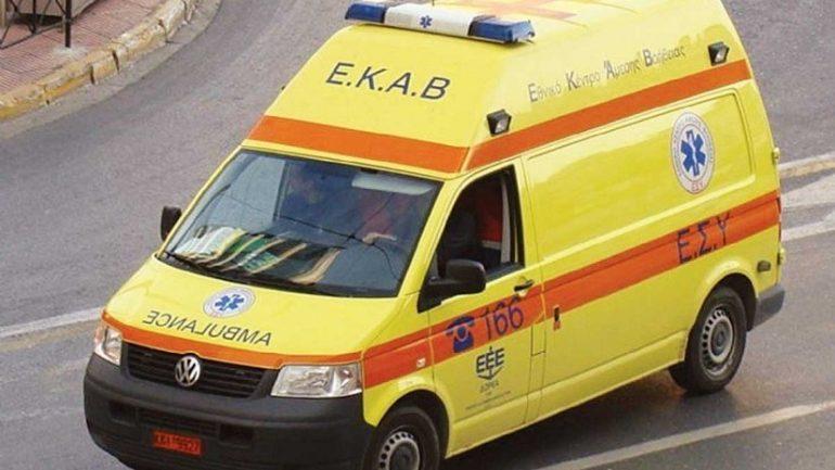 Παιδί έπεσε και χτύπησε στο κέντρο της Λάρισας
