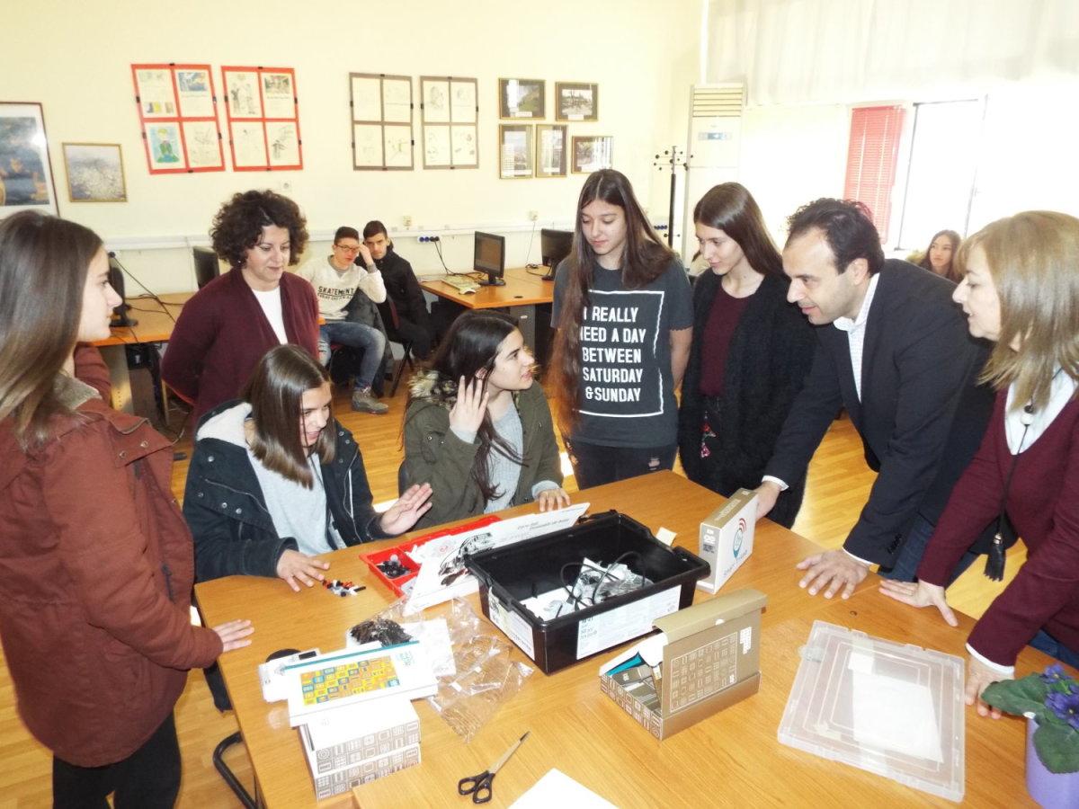 Η ρομποτική στα σχολεία του Δήμου Τρικκαίων