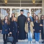 Μαθητές του 13ου Λυκείου στον ραδιοφωνικό σταθμό της Μητρόπολης