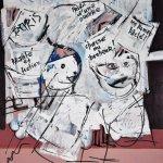 Εγκαίνια έκθεσης του Ν. Καλτσά στη Δημοτική Πινακοθήκη Λάρισας
