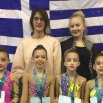 Στη Σόφια οι αθλήτριες του Γ.Σ. Νίκη Λάρισας