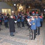 Γιορτινές νότες από τη Φιλαρμονική του Δήμου Λαρισαίων (φωτ.+βίντεο)