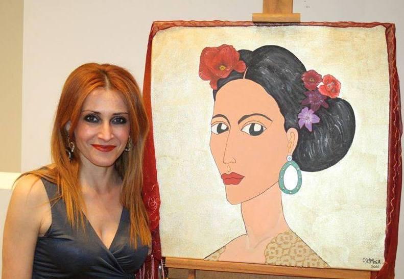 Έκθεση της Λαρισαίας ζωγράφου Ολυμπίας Ματράκη στο Βόλο