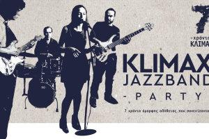 7 χρόνια Κλίμαξ – Klimax Jazz Band Party!