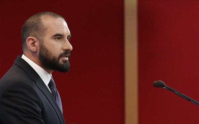 """Τζανακόπουλος: «Ο διάλογος με το Κίνημα Αλλαγής προϋποθέτει """"καθαρές κουβέντες""""»"""