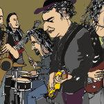Οι Blues Trackers στη σκηνή του Λίντο