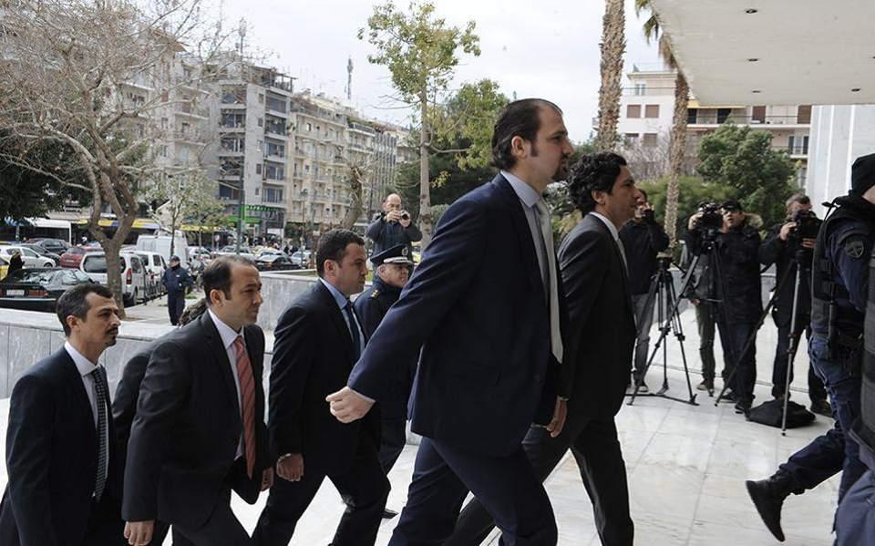 Nέο αίτημα για έκδοση των 8 Τούρκων στρατιωτικών υπέβαλε η Αγκυρα