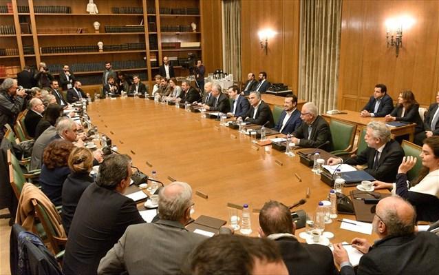 Οικονομία και εθνικά θέματα στη συνεδρίαση του Υπουργικού Συμβουλίου