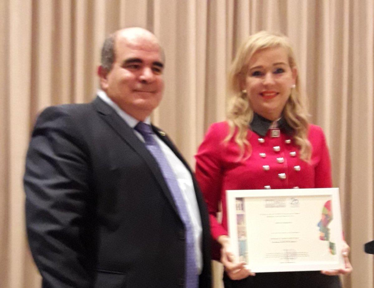 Βράβευση από την UNESCO στη συγγραφέα & παιδαγωγό κα Λητώ Τσακίρη Παπαθανασίου