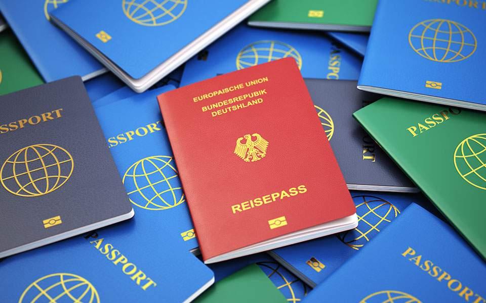 Το γερμανικό, το πιο ισχυρό διαβατήριο στον κόσμο