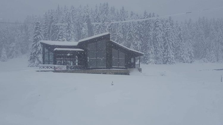 Έφτασε τους 60 πόντους το χιόνι στο Περτούλι (φωτ.)