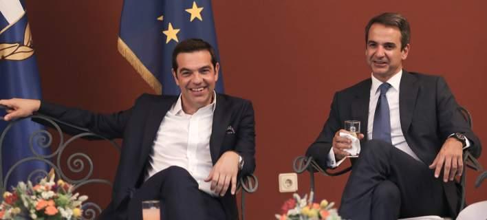 Σταθερά μπροστά η ΝΔ έναντι του ΣΥΡΙΖΑ, η διαφορά στο 10,1%