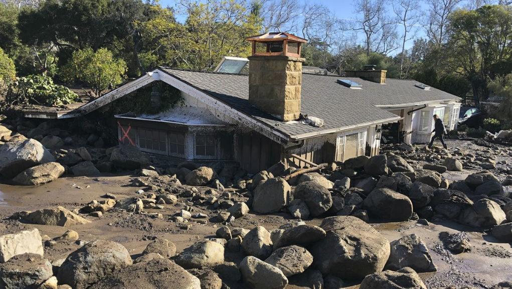 Στους 19 οι νεκροί στη νότια Καλιφόρνια εξαιτίας των κατολισθήσεων