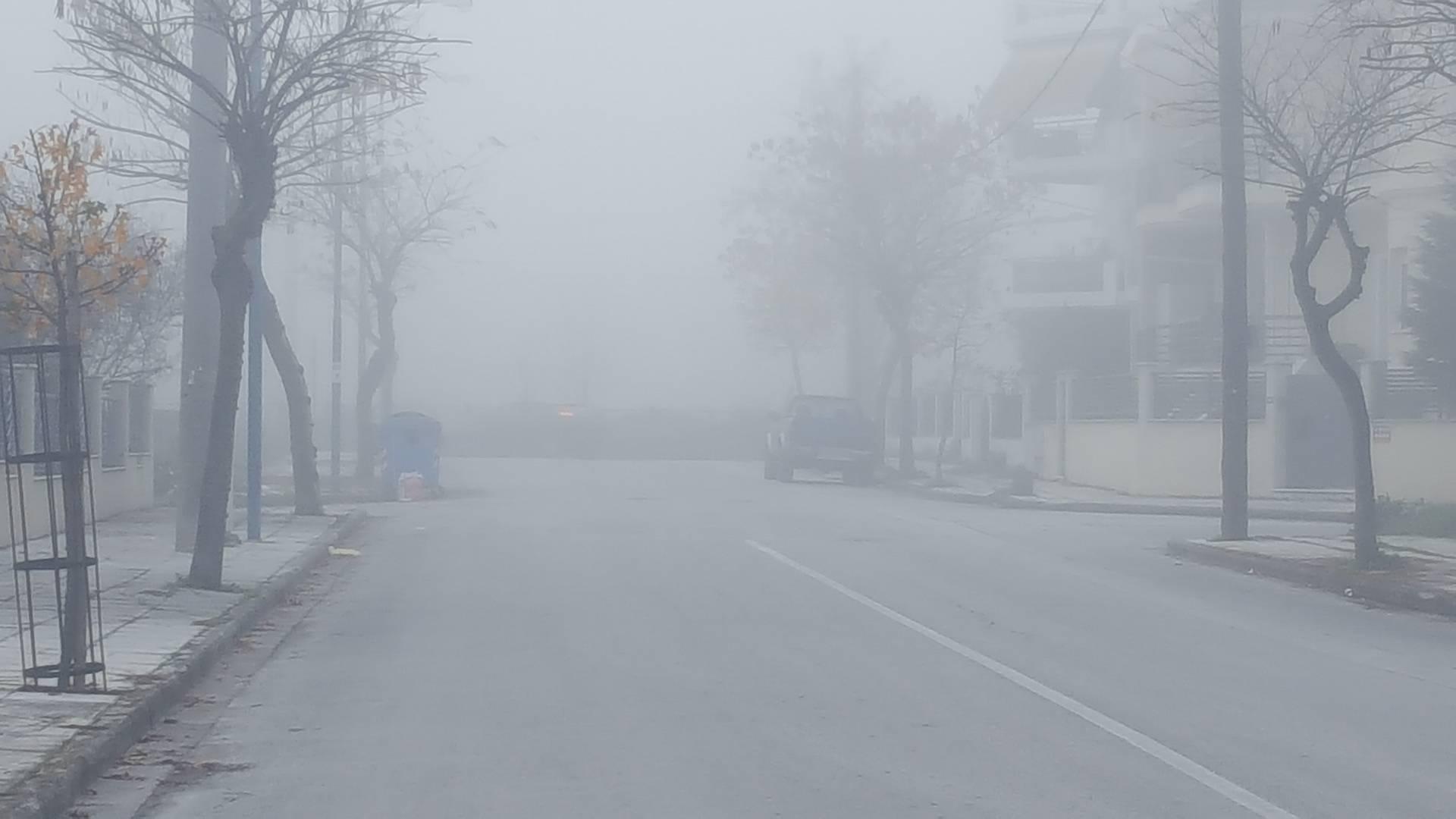 ομιχλη λαρισα (2)