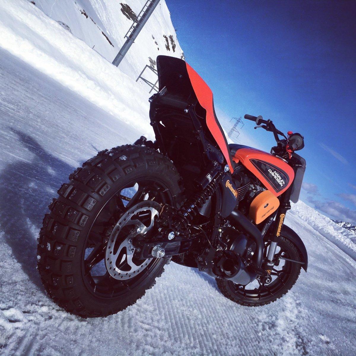 Επέλαση στον πάγο για την Harley-Davidson