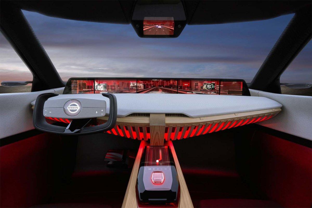 Η  Nissan αποκαλύπτει το πρωτότυπο όχημα  Xmotion, στο Σαλόνι Αυτοκινήτου του Ντιτρόιτ