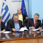 Ο Αγοραστός υπέγραψε την Προγραμματική Συμφωνία για την ΤΑ