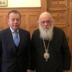 Συνεργασία Κόκκαλη – Αρχιεπισκόπου για αξιοποίηση αγροτικών εκτάσεων της Εκκλησίας