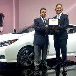 """Το  Nissan LEAF κατέκτησε το βραβείο """"2018 FIPA Πράσινο αυτοκίνητο της χρονιάς"""""""