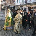 Στην Αγιά για τη γιορτή του Αγίου Αντωνίου ο Γιώργος Κατσιαντώνης