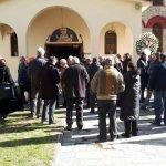 Κηδεύτηκε στα Τρίκαλα ο Γρηγόρης Σαράφης (φωτό)
