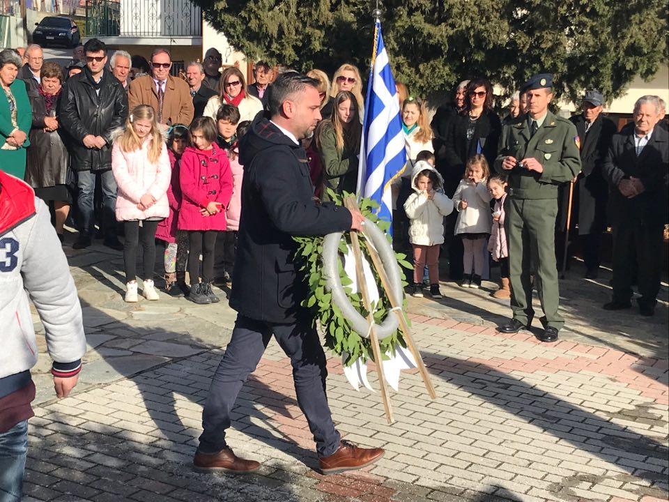 Τίμησε την μνήμη των εκτελεσθέντων από τους Γερμανούς στο Σαραντάπορο ο Κατσιαντώνης
