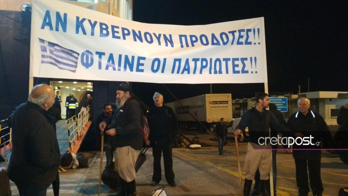 «Απόβαση» έφιππων Κρητικών στη Θεσσαλονίκη για το Σκοπιανό