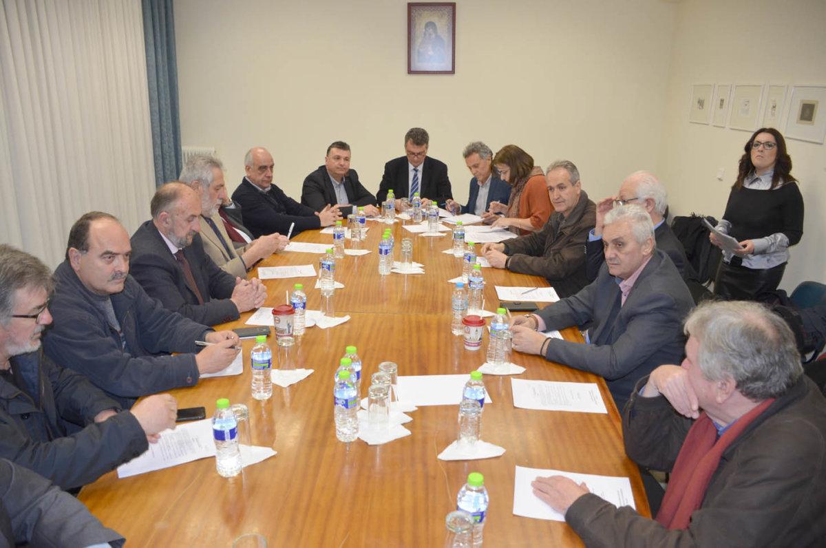 Συνεδρίαση ΠΕΔ Θεσσαλίας και Δ.Σ. Ελασσόνας