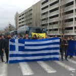 Η «Ελληνική Επαναφορά» με 3 λεωφορεία στη Θεσσαλονίκη (φωτ.)