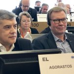 Ομιλία Αγοραστού και συνάντηση με Κρέτσου στις Βρυξέλλες
