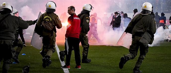 Ομάδα εργασίας για τη βία στα γήπεδα θα υποβάλει προτάσεις στα τέλη του μήνα