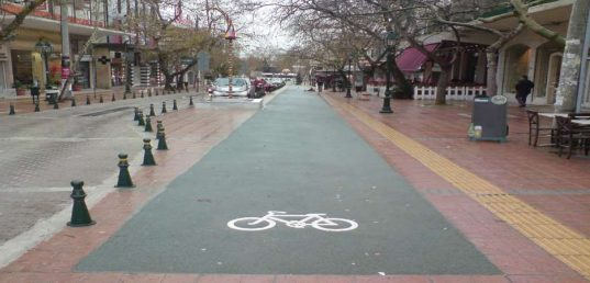 Έτσι θα είναι οι νέοι ποδηλατόδρομοι