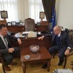 Συνάντηση Ευαγγέλου με τον Ιταλό πρέσβη