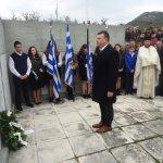 Ευαγγέλου: Το ελληνικό χώμα είναι αδιαπραγμάτευτο