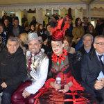 Οι επίσημοι στο Τυρναβίτικο καρναβάλι (φωτ.)