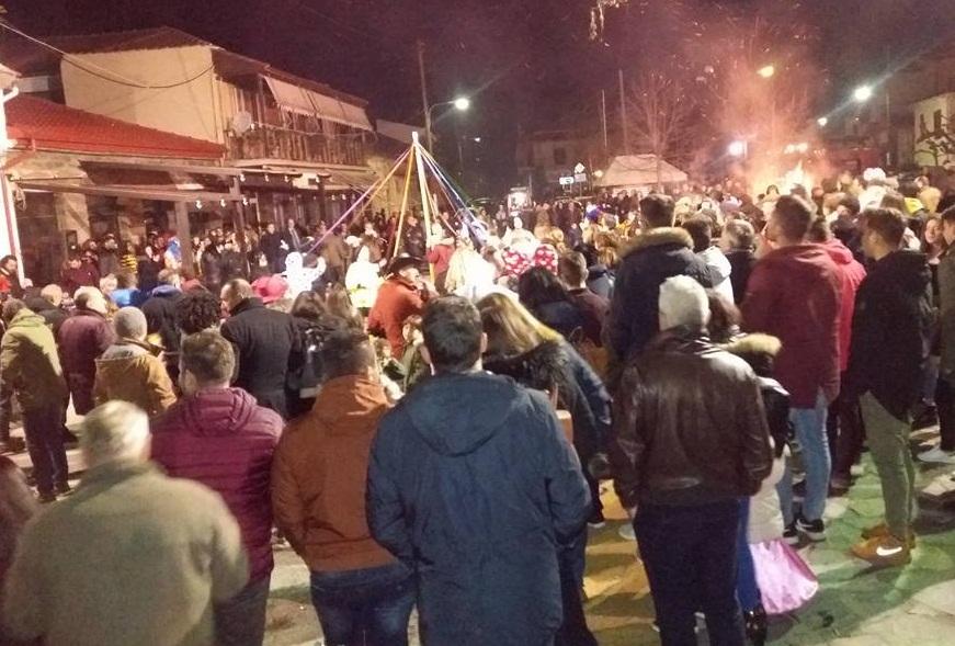 Κλικς από τις καρναβαλικές εκδηλώσεις στο δήμο Τεμπών