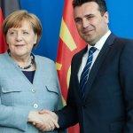 «Μακεδονία» αποκάλεσε η Μέρκελ τα Σκόπια στη συνέντευξη με τον Ζάεφ