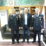 Η ηγεσία της θεσσαλικής αστυνομίας στα Τρίκαλα