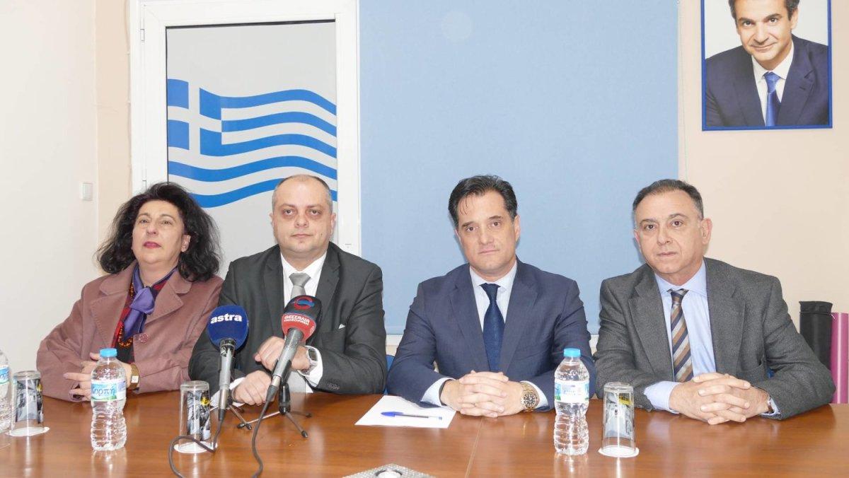 Αδωνις: «Ο Τσίπρας έφερε Novartis γιατί έδωσε το όνομα Μακεδονία»