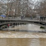 Σε οριακή κατάσταση τα ποτάμια στο ν. Τρικάλων (φωτ.)