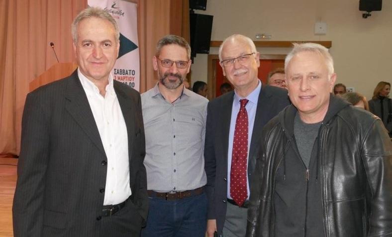 Σε εκδήλωση για το μέλλον της Προοδευτικής Παράταξης ο Απ. Καλογιάννης