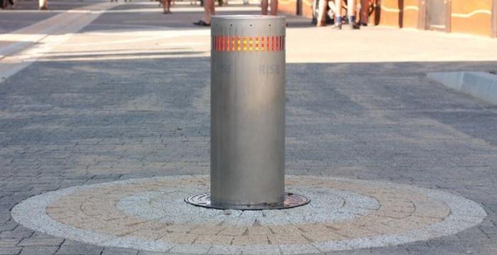 Σύστημα ελεγχόμενης πρόσβασης στους πεζοδρόμους
