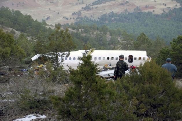 Συντριβή τουρκικού αεροσκάφους στο Ιράν